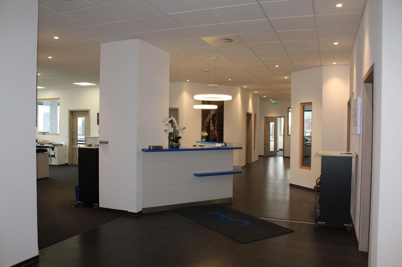 Büroräume Steuerbüro Serrand 1